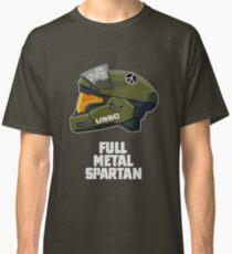 Full Metal Spartan (dark) Classic T-Shirt