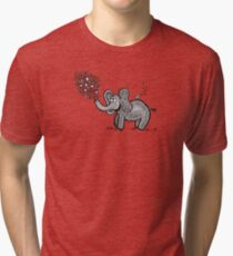 Little Lalee The Elephant Tri-blend T-Shirt