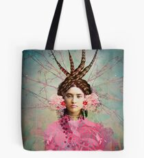 Portrait in pastel Tote Bag
