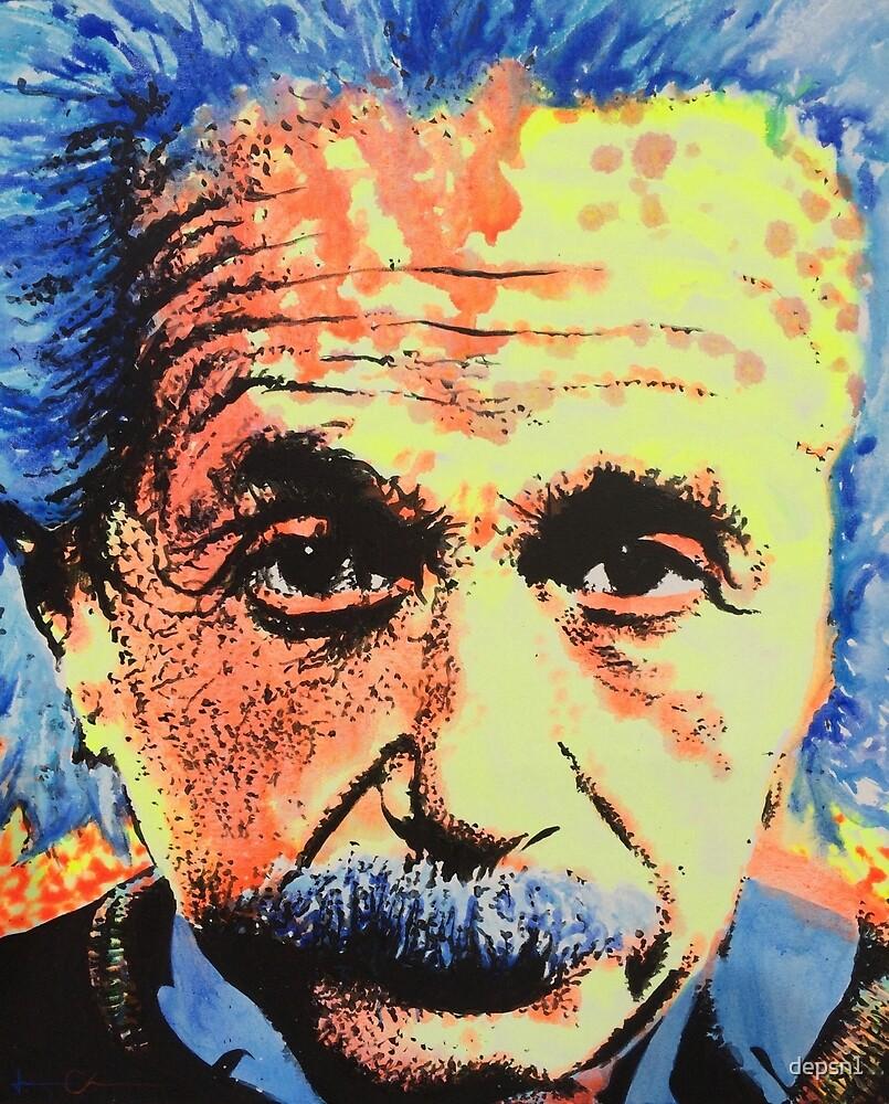 Albert Einstein by depsn1