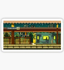 Flinders St Station (Melbourne Series) Sticker