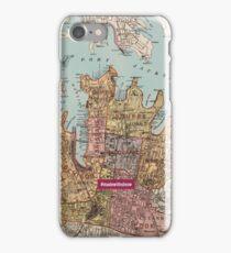 City of Sydney map iPhone Case/Skin
