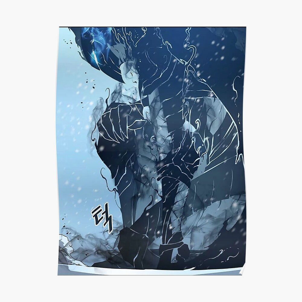 Anime  Solo Leveling Poster Print  24 X 14 inch