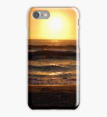 sunset in cape town iPhone Case/Skin