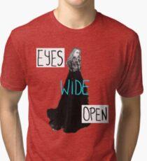Eyes Wide Open-Sabrina Carpenter Tri-blend T-Shirt