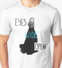 Eyes Wide Open-Sabrina Carpenter Unisex T-Shirt