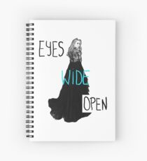 Eyes Wide Open-Sabrina Carpenter Spiral Notebook