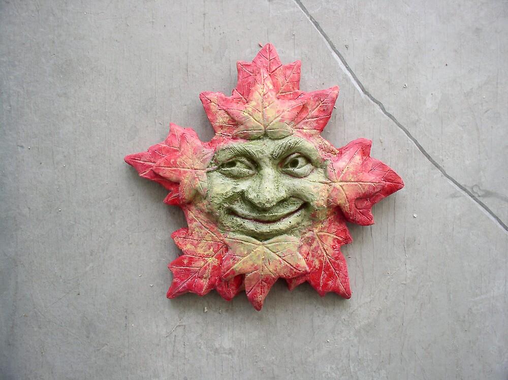 Leafman, Greenman by garascia