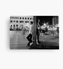 wall in your head (XL version) Canvas Print