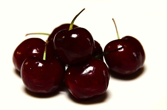 Tis the season to eat cherries by Georgie Hart