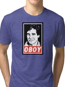 Obeying the Quantum Leap Tri-blend T-Shirt