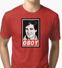 Obeying the Quantum Leap Tri-blend T-Shirt