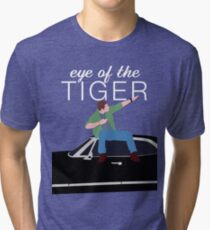 Supernatural - Eye of the Tiger Tri-blend T-Shirt
