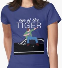 Supernatural - Eye of the Tiger Women's Fitted T-Shirt