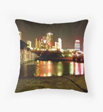 Niagara's Nights Throw Pillow