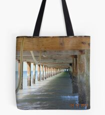 Under The Boardwalk... Tote Bag