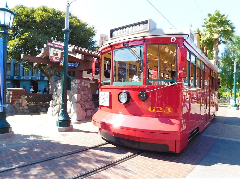 trolley travels by mickiemouse