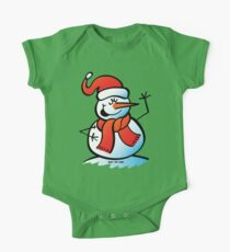 Singing Snowman One Piece - Short Sleeve