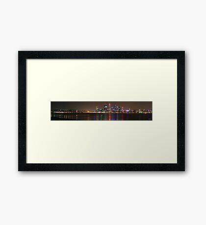 Perth Panorama 2 Framed Print