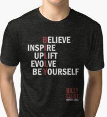 Billy Elliot The Musical Live Logo  Tri-blend T-Shirt