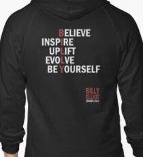 Billy Elliot The Musical Live Logo  Zipped Hoodie