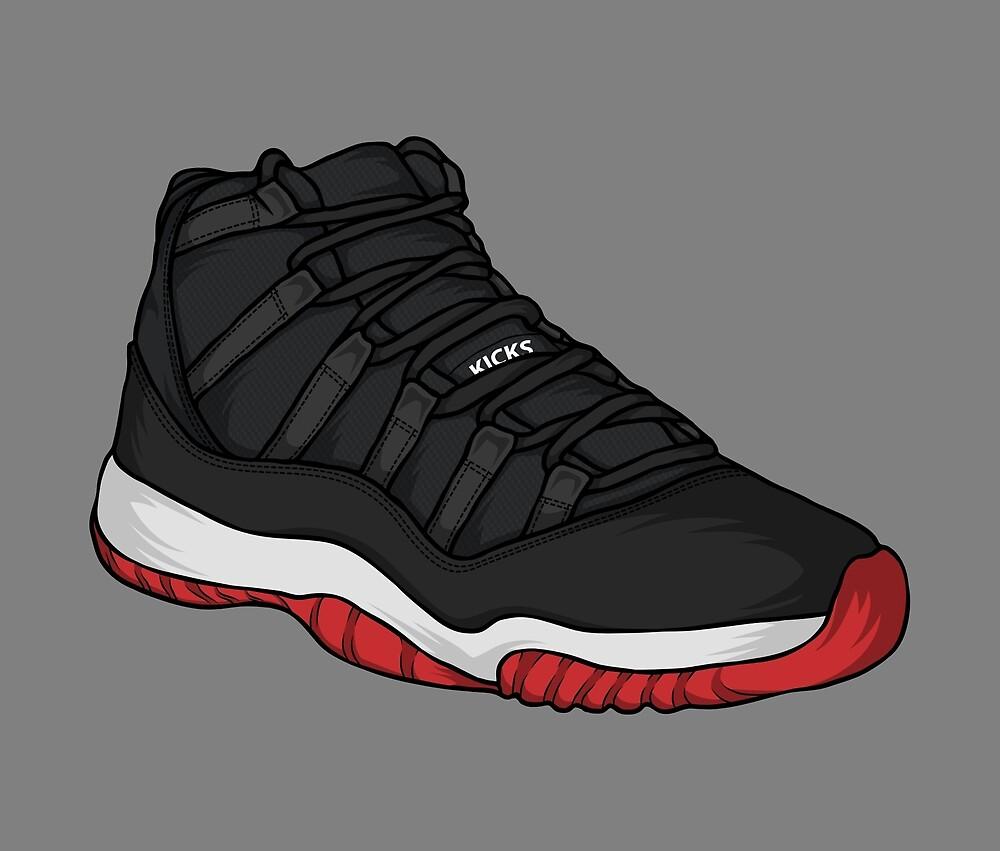 Shoes Breds (Kicks) by Pancho The Macho