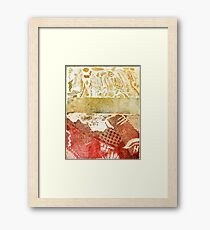 Under the Sea 2 Metal Etched Print Framed Print