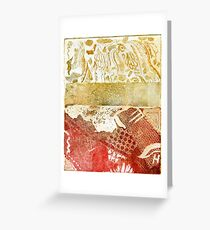 Under the Sea 2 Metal Etched Print Greeting Card