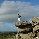 Man V Nature.....Helman Tor, Cornwall. by greenstone