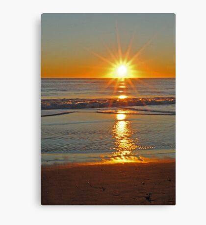 (Another) Salvo Sunrise Canvas Print