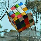 The Big Rubik's Cube by peasticks