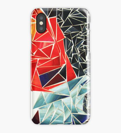 Anger Sadness Abstract iPhone Case/Skin
