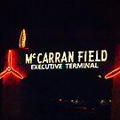 McCarran Field sign in Las Vegas, Nevada by Henry Plumley
