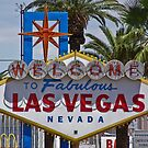 Las Vegas Sign by Henry Plumley