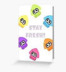 Squids Greeting Card