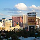 Las Vegas Strip Sunset by Henry Plumley