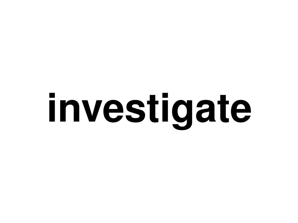 investigate by ninov94