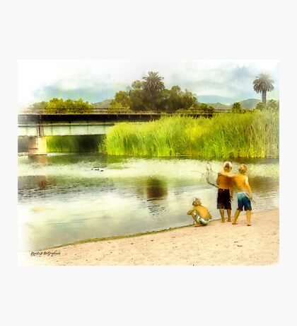 Brothers, Best Friends Photographic Print