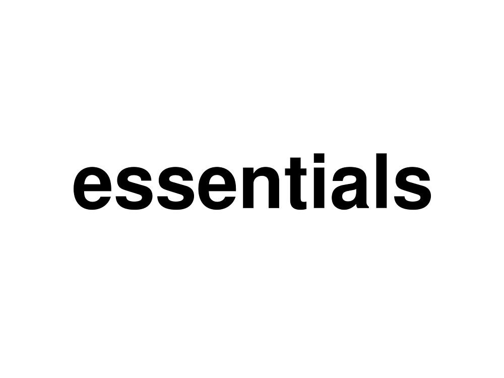 essentials by ninov94
