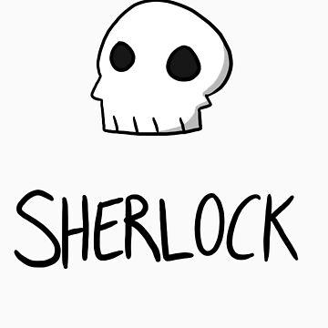 Sherlock - Black Lettering by sherbear