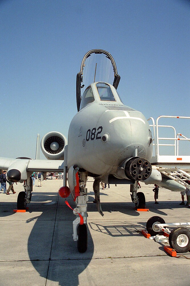 Fairchild Republic A-10 Thunderbolt II by Anthony Woolley