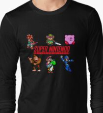 Super Nintendo Long Sleeve T-Shirt