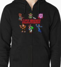 Super Nintendo Zipped Hoodie