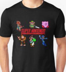 Camiseta ajustada Super Nintendo