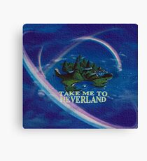 Lienzo Llévame a Neverland