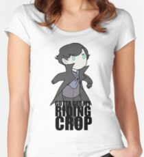 Gotta Get My RIDING CROP Women's Fitted Scoop T-Shirt