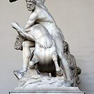 Hercules And The Centaur Nessus by Fara