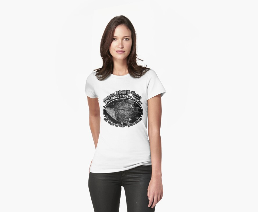 Around the World in 80 Days Tee or Hoodie by Bethalynne Bajema