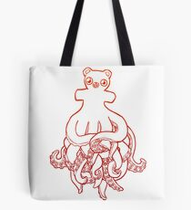 Octobear Tote Bag