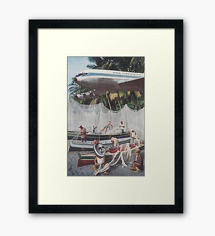 'Low Flier' Framed Print